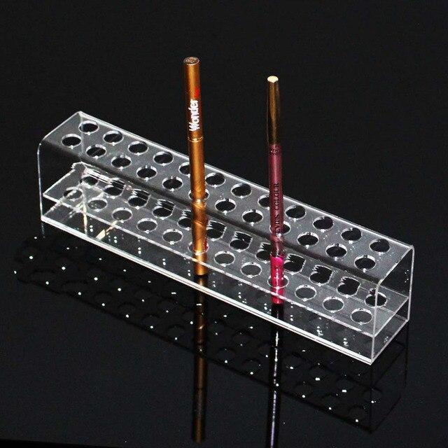 Transparent Acrylic Pen Rack Stationery Shelves Items Show ...