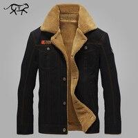 New Winter Jacket Men Thermal Cotton Military Tactical Jacket Coat Army Pilot Bomber Jackets Men Air
