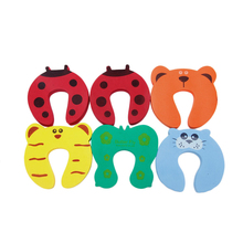 OOTDTY Care Baby Safety 6Pcs Pinch Finger Guard Lock Jammer