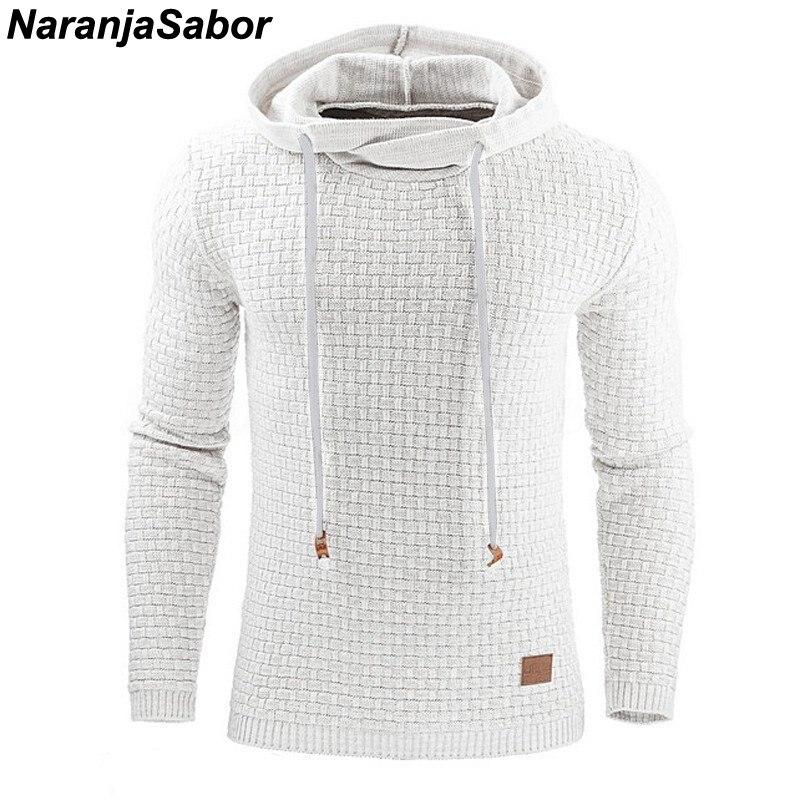NaranjaSabor 2020 Autumn Men's Hoodies Slim Hooded Sweatshirts Mens Coats Male Casual Sportswear Streetwear Brand Clothing N461 2