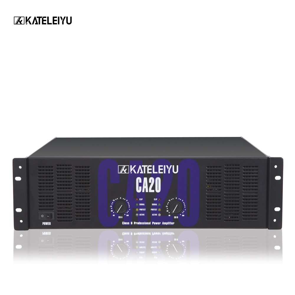 professsional power amplifier CA20 amplifier Tube Integrated Amplifier  Input USB / AUX Power Amplifie1550W * 2 ohms multifunct-in DJ Equipment  from Consumer ...