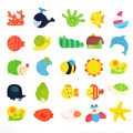 12 bonito multifuncional magnetic puzzle puzzle brinquedos para melhorar a educação na primeira infância das crianças imaginação