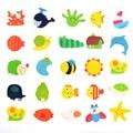 12 lindo multifuncional rompecabezas magnético rompecabezas juguetes para mejorar la educación de los niños de la primera infancia de la imaginación