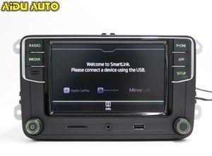 Image 5 - AIDUAUTO Carplay Noname RCD330 RCD330G Plus Radio Green Backlight For Skoda Octavia fabia 6RD 035 187 B 6RD035187B