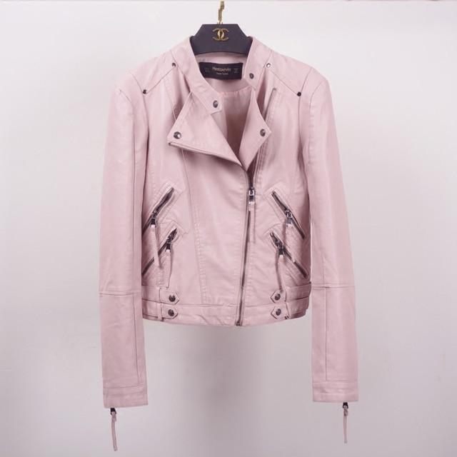 Новый pu короткий параграф женский короткий параграф осенью и зимой украшения тела кожаная куртка большой размер кода