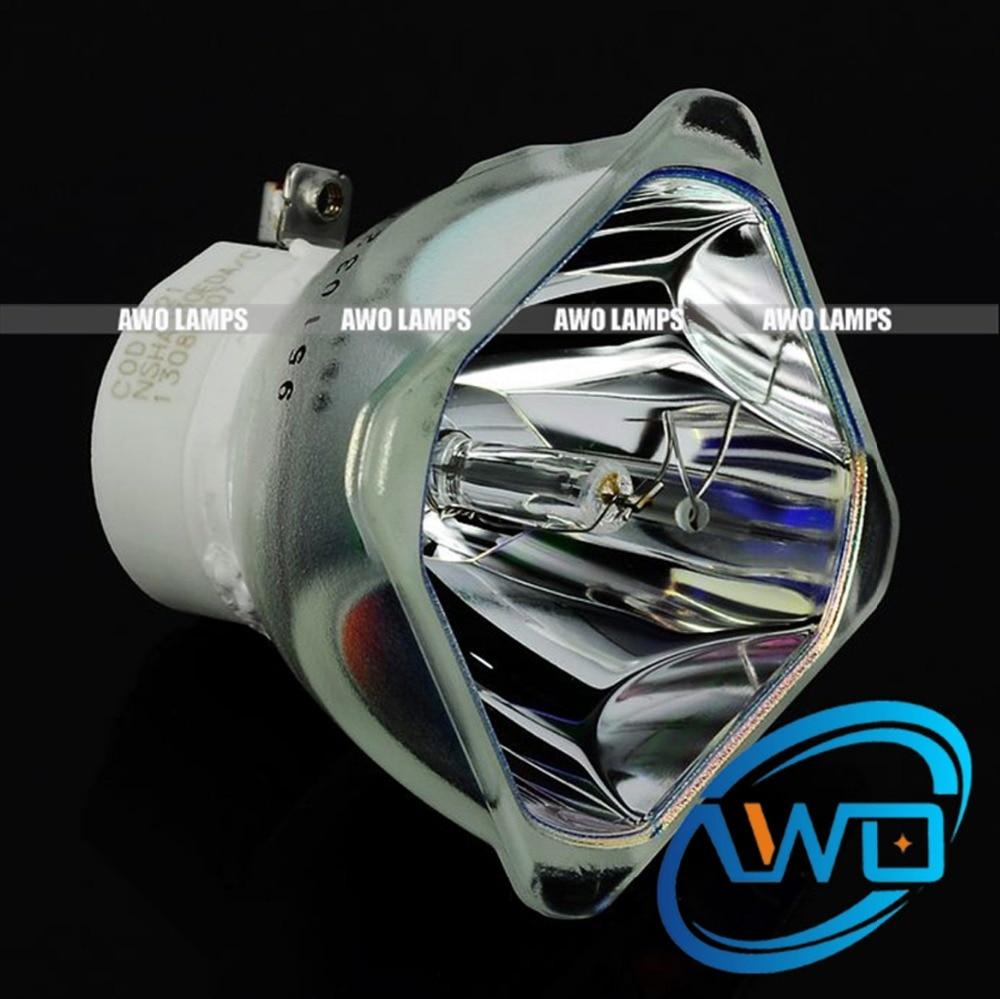 AWO NSHA230W Projector Lamp Bulb POA-LMP140/610-350-2892 POA-LMP141/610-349-0847 for Sanyo PLC-WL2500 PLC-WL2501 PLC-WL2503 compatible projector lamp for sanyo poa lmp57 610 308 3117 plc sw30 plc sw35