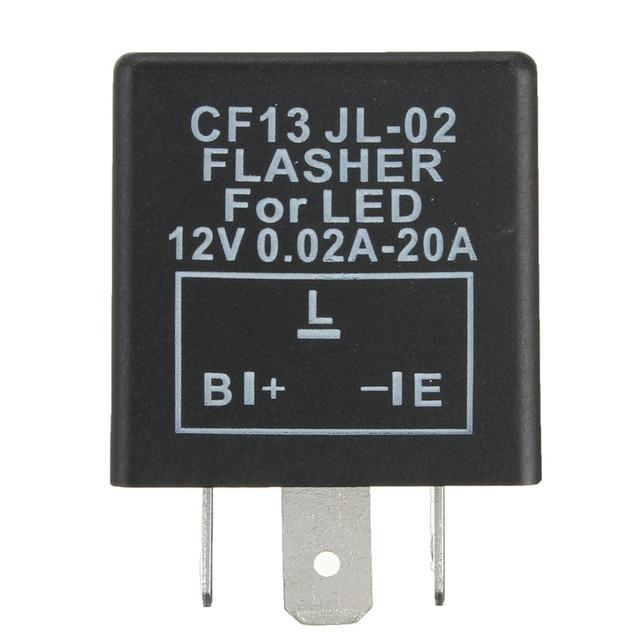 Universial 3 Pin электронный Flasher реле модуля CF13 исправить светодио дный указатель поворота мотоцикла быстрая починка Flasher
