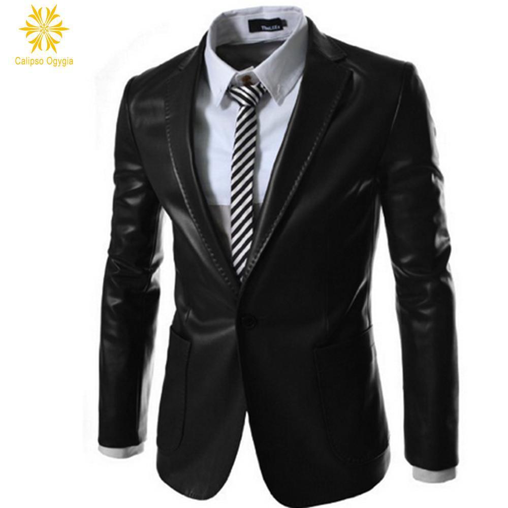 Popular Mens Dark Green Leather Jacket-Buy Cheap Mens Dark Green ...
