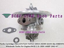 Turbo Cartridge CHRA GT1752S 733952 733952-5001S 733952-0001 28200-4A101 28201-4A101 Turbocharger For KIA SORENTO D4CB 2.5L CRDI