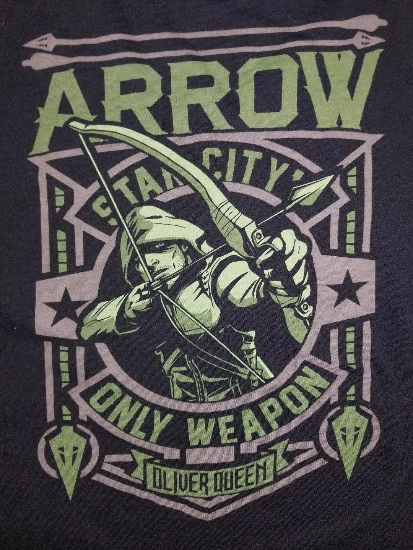 Mirakuru Arrow Oliver Queen starling city Culte Serie T-Shirt Toutes Tailles Neuf