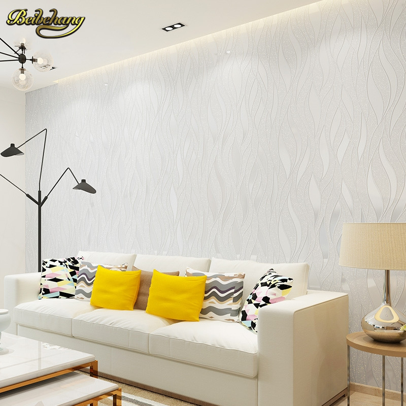 beibehang  High Quality Mural modern striped wallpaper for wall papel de parede tapete of bedroom living room blackground