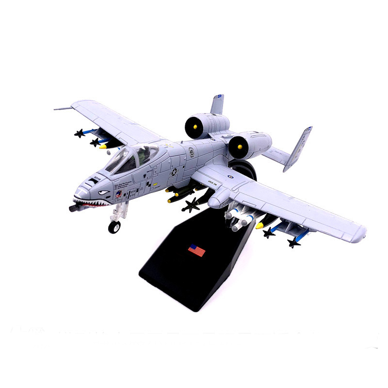 Special Offer  Rare  1:100  Gulf War Tank Killers  A-10 Fighter Attacker Model  Alloy Military Model  Collection Model