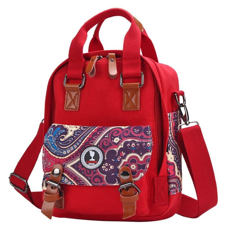 ФОТО New Anti-theft Tote Maternity Nappy Bag Fashion National Print Backpack Mummy High Quality Brand Bolsos Para Sillitas De Paseo