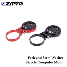 ZTTO MTB Bicycle Computer Mount Holder Fixed On Stem Or Fork Road Bike Parts For GARMIN CATEYE