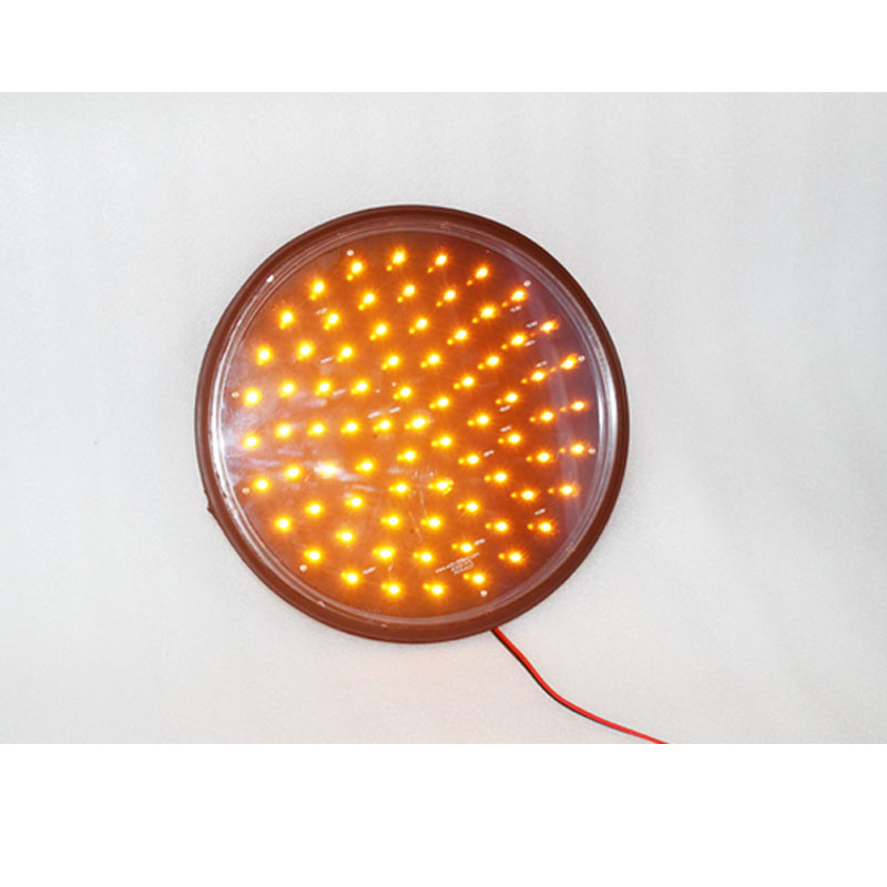 Best Selling New Arrival 300mm Yellow Led Traffic Light Lampwick Waterproof Traffic Parts