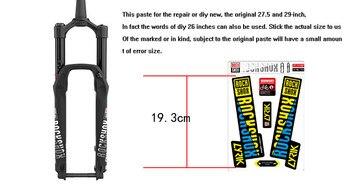 2018 rockshox LYRIK mountain bike forcella anteriore adesivi anteriore della bicicletta forcella decalcomanie Accessori Per Biciclette