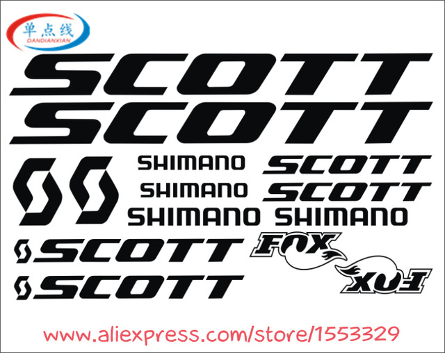 1 Set Frame Stickers Sticker For MTB DH Cycling Road Racing DIY Decals Vinyl