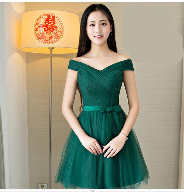 Vestido verde esmeralda festa