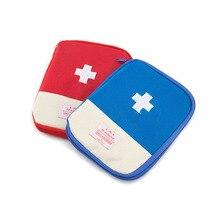 Nueva Pequeña Bolsa de Primeros Auxilios Botiquín de Primeros Auxilios de Emergencia de Supervivencia Al Aire Libre Wrap Gear Caza Mayor Seguridad de Viaje de primeros auxilios kit de Bolsa