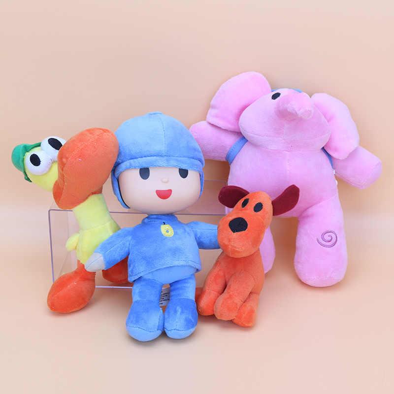 12-26 cm Pocoyo Elly & Pato & POCOYO & Loula Recheadas Brinquedos De Pelúcia Bom Presente Para As Crianças