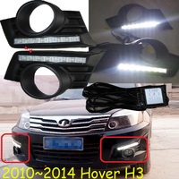 Hover H3 Daytime Light 2010 2014 Free Ship LED Hover H3 Fog Light Greatwall Hover H3