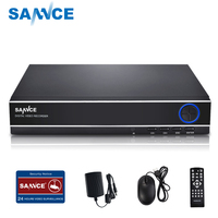 SANNCE 4CH 720P Security Standalone DVR H.264 Realtime HDMI Output, Quick QR Code Scan and Easy Remote View for CCTV system