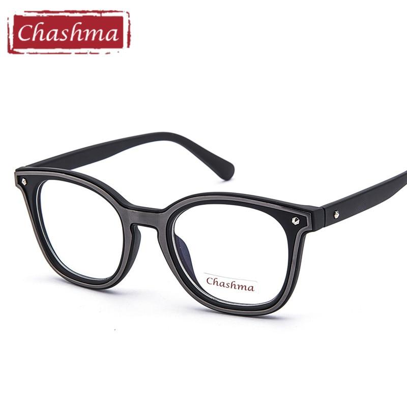 Chashma Brand Large Circle Frame Vintage Fashion Men and Women Spectacles Eyeglasses