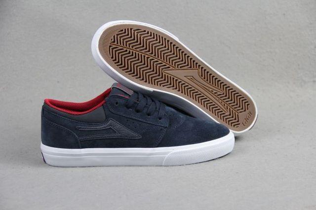 US Size 9-13  2016 New Style Dark Blue Anti-Fur LAKAI GRIFFIN BOY Shoes Streetwear Hard Wearing Shoes
