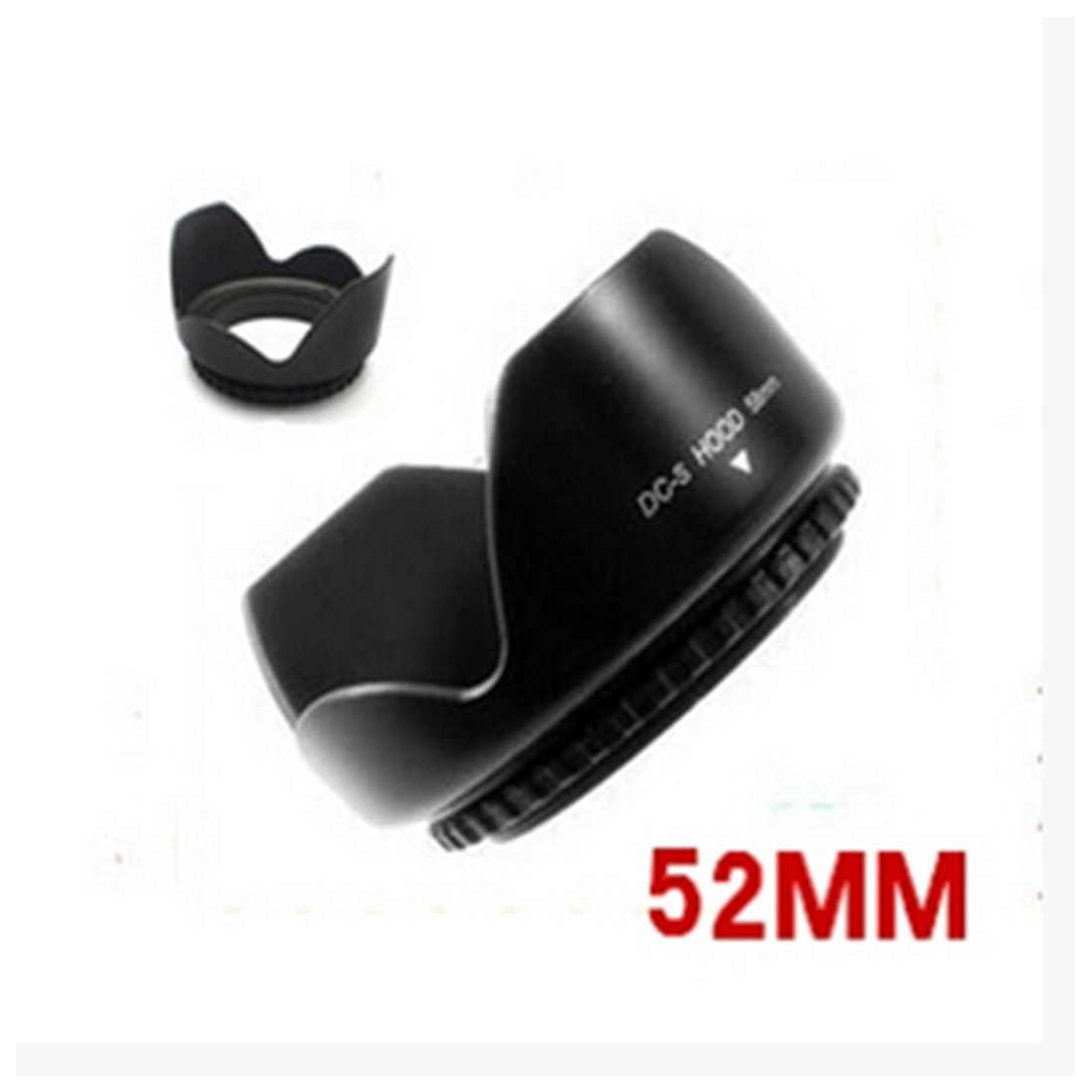 Centechia D3200 D3300 D5200 D5300 Camera Lens Hood 52mm Bằng Lưỡi Lê Phù Hợp Với AF-S DX 18-55mm f /3.5-5.6G VR II