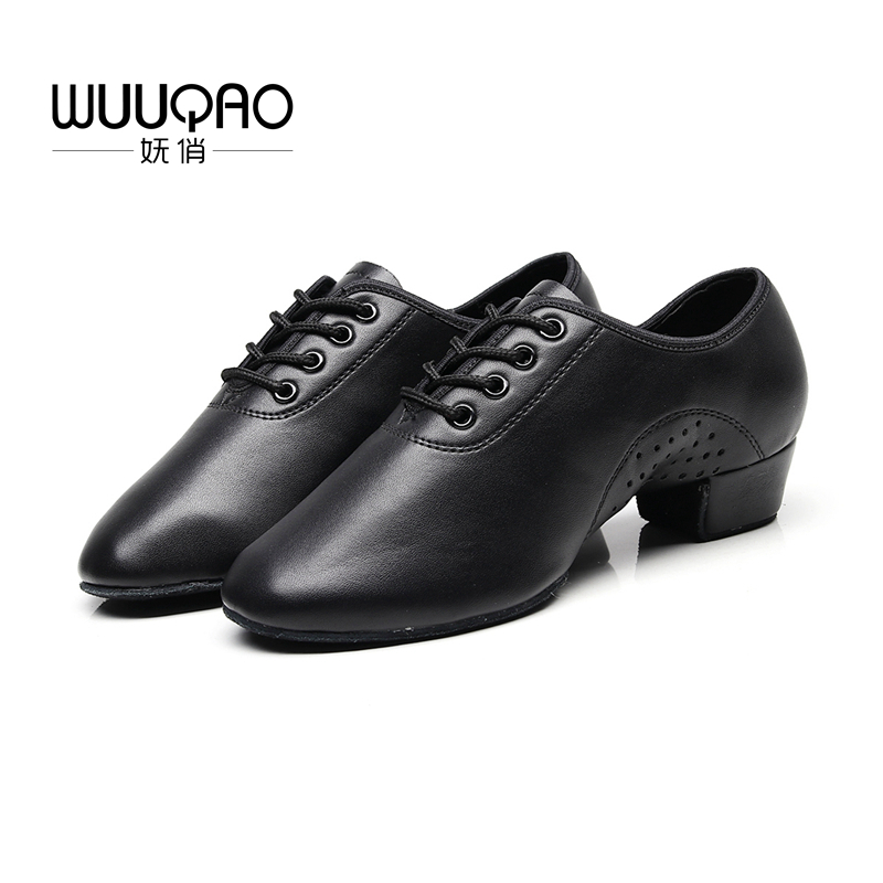 WUUQAO 2019 Adult,Children's Latin Dance Shoes Men's And Women's Jazz Shoes Practice Dance Shoes Oxford Cloth And Cowhide