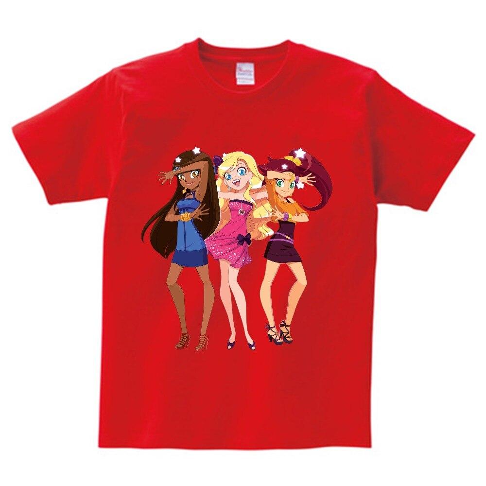 Manga Curta Tripulação Pescoço Tshirt Das Meninas