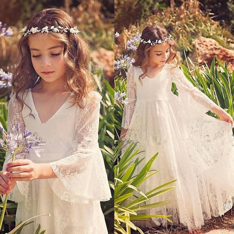 Popular Flower Girl Dresses for Beach Wedding-Buy Cheap Flower ...