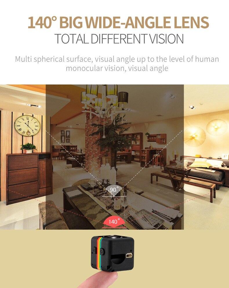 SQ11 HD Camera 1080P Night Vision Camcorder Camera 12MP video Camera DVR DV Motion Recorder Camcorder 8
