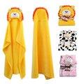 Hold Neonatal Cobertores do bebê de Flanela Com Capuz Envelope Para Recém-nascidos Cobertor Panos Para Crianças Infantil Roupão de Banho Com Capuz Toalha