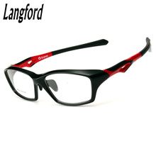 streamline Eyewear Frame Camber Cool Men's Fashion Eyeglasses Myopia Prescription adjustable nose pad temple Plastic titanium