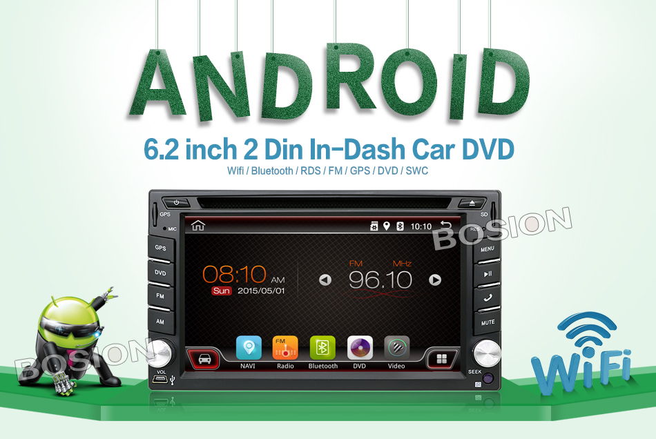 Sale Android 7.1 Quad Core With Car DVD Player GPS Navi For Toyota RAV4 Corolla Hilux For Universal Car Radio Touch Screen Car Stereo 0