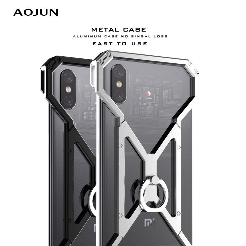 XIAOMI MI8 Metal Case Shockproof Case Ultra Thin Aluminum Bumper For Xiaomi Mi 8 Mi8 Protection Back Cover