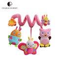 0-12 meses educativos del juguete del bebé recién nacido móvil sonajeros juguetes musicales para niños colorido cochecito infantil coche colgando HT827
