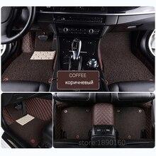 Пользовательские автомобильные коврики для Audi A6L Q3 Q5 Q7 R8 S4 RS TT Quattro A1 A2 A3 A4 A5 A6 A7 A8 автомобильные аксессуары для укладки