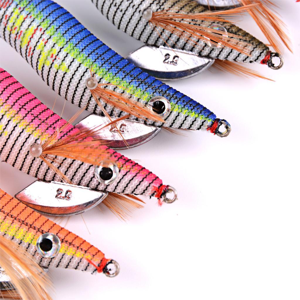 6 шт. Блесен рыбалки приманка экспортируется в США Японии Рынок рыболовные снасти 6 цветов 5,5 г-21,5 г, 8 см-15 см 2,0 #-4,0 # крючки