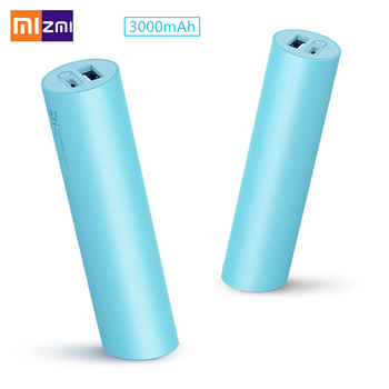 XIAOMI ZMI Portable Full 3000mAh Rechangable 18650 Batteries MINI Power Bank For Xiaomi Android iPhone Smart Phone Primary & Dry Batteries