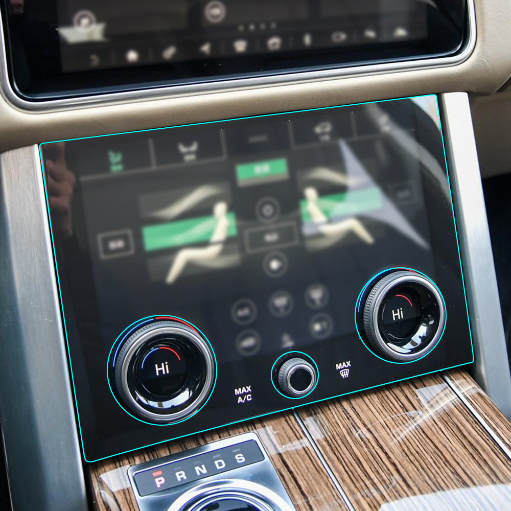 Sticker For Range Rover Sport Transparent Promotion Tpu: Car Interior Central Control Gear Panel Kit TPU Protective