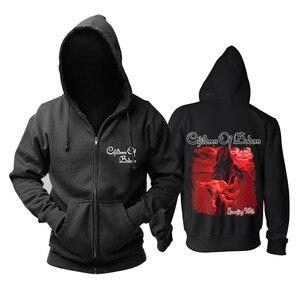 Image 2 - Bloodhoof Children Of Bodom Melodische Death Metal Katoen Zwarte Hoodie Aziatische Grootte