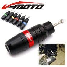 Для HONDA VFR750 VFR800/F VFR 1200/F VTR 250 VFR400 мотоциклетные краш-колодки выхлопные ползунки защита кузова