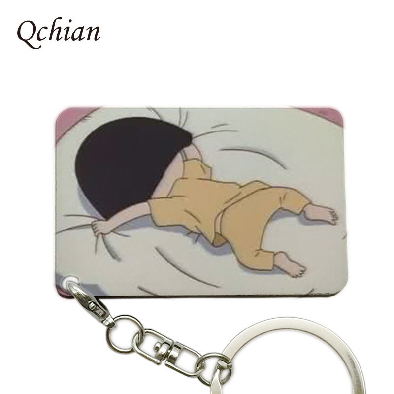 The Hottest Anime Chibi Maruko Series Photo Keychain, Hang Bag or Shopping Bag  keychain, can be Customized Presents,Pokemon