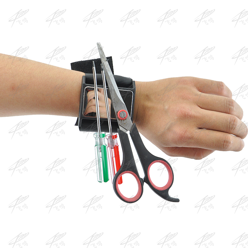 Strong Magnetic Wristband Toolkit Belt Car Repair Screws Scissor Nails Nuts Bolt Drill Holder Tools Storage Wrist Strap Bracelet