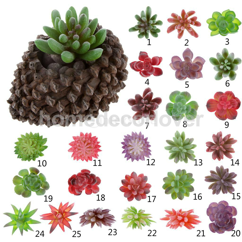 line Buy Wholesale artificial succulents from China artificial succulents W