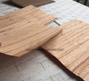 Image 2 - 5 teile/los 25x16 cm Dicke: 0,5mm Natürliche Rote Rose Holz Clip Boden Teig Furnier