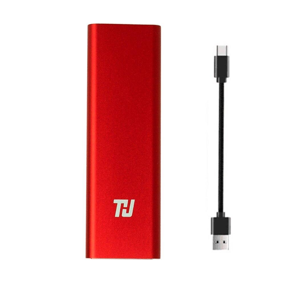 JEU Mini Protable SSD 1 TB 128 GB 256 GB 512 GB USB3.1 400 Mo/S Externe Lecteur à État Solide pour PC Ordinateur Portable notebook