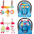 Baby Rattle Cute Animal Infant Fun Toys For Stroller Newborn Mobility Clib Music Hanging Educational Plush Toys DBYC150 PT49